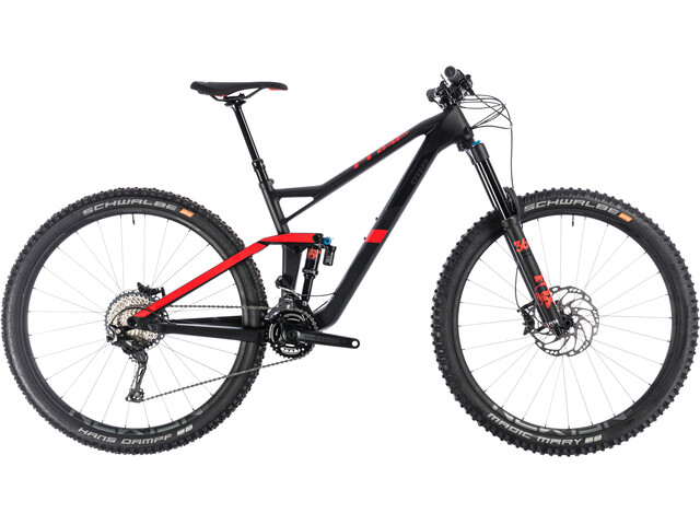 Cube Stereo 150 C:62 Race Full suspension mountainbike zwart